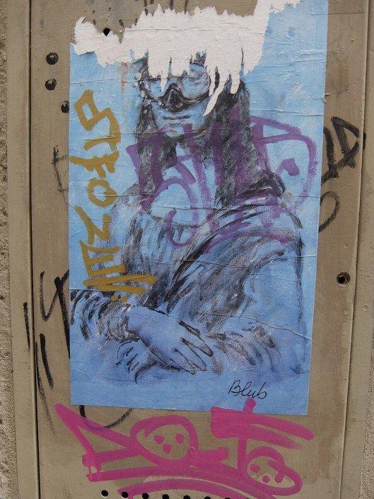 Florence Italy street art Blub