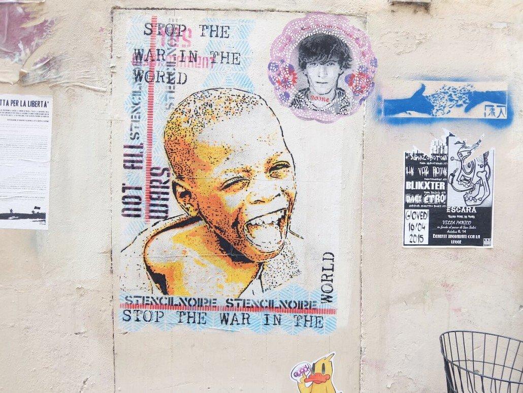 Florence Italy street art