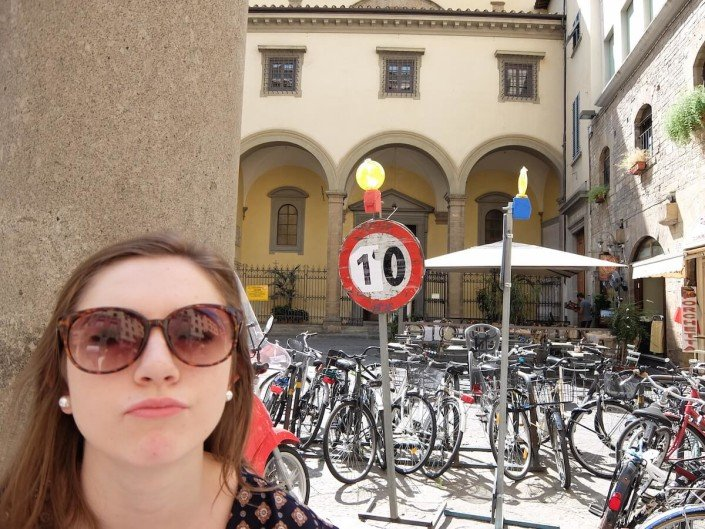 Florence Italy guerrilla speed limit