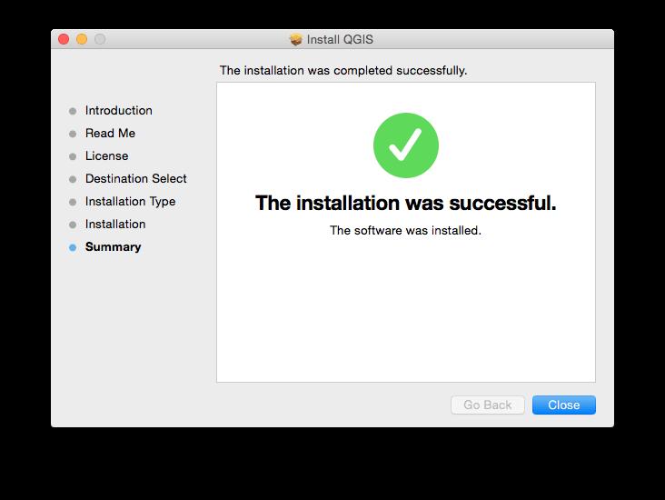 Install QGIS 2 16 on a Mac | Jill Saligoe-Simmel, Ph D